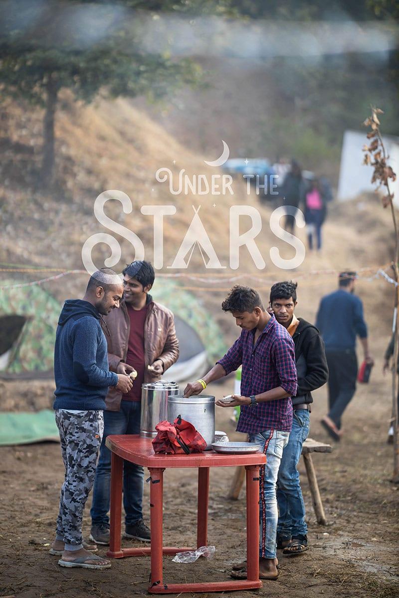 snacks at camping