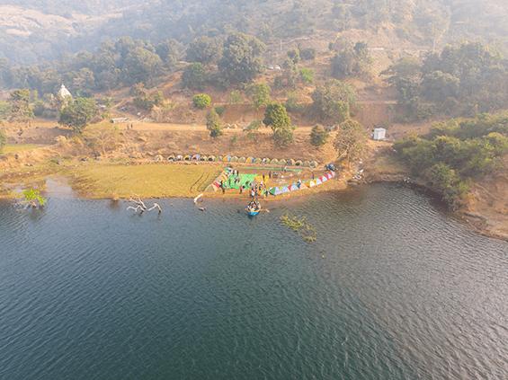 igatpuri campsite view